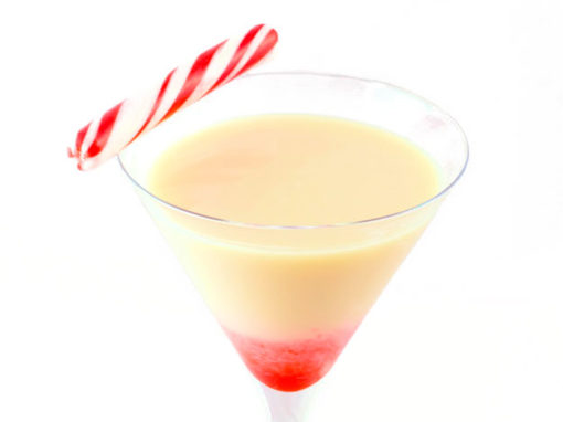 Candy Cane Martini
