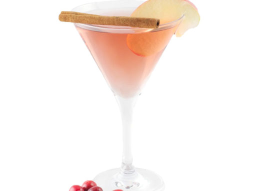 Cran-Apple Vodka Martini