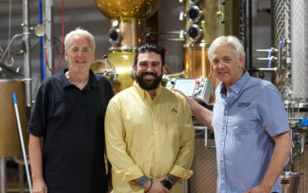 Litchfield Distillery Welcomes Dimitrios Zahariadis to Lead On-Premise Accounts.