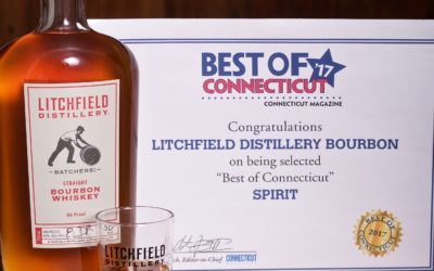 "Connecticut Magazine Honors Litchfield Distillery Bourbon in ""Best Of"" Edition"